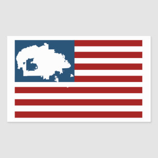 WE ARE STILL HERE! Navajo Nation on American Flag Sticker