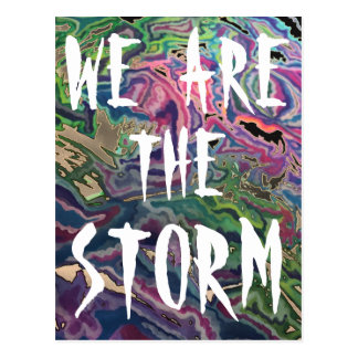 We are the STORM Definition Postcard