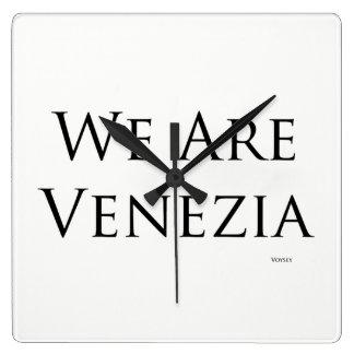 We Are Venezia clock