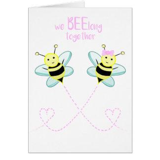 We BEElong together - Card