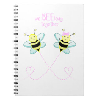 We BEElong together - Spiral Notebook