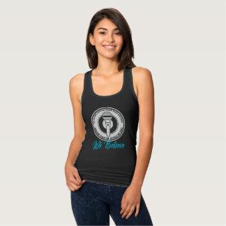 We Believe Women's Dark Racerback Tank Top