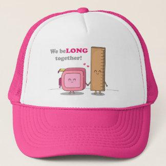 We belong together, Cute Couple in Love Trucker Hat