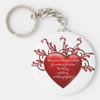 We Belong Together Keychain