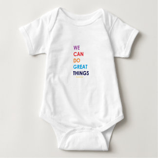 We Can Do Great Things Baby Bodysuit