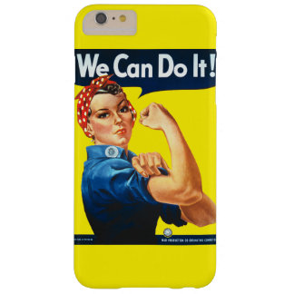 We Can Do It! Barely There iPhone 6 Plus Case