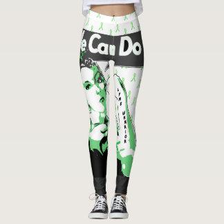 We Can Do It Lyme Awareness Leggings
