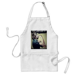 We can do it meme... standard apron