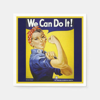 We Can Do It! Napkin
