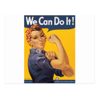We Can Do It! Postcard