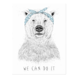 We can do it postcard
