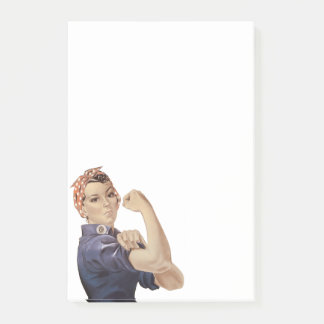 We can Do It Rosie The Riveter Post-it Notes