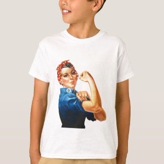 We Can Do It Rosie the Riveter Women Power T-Shirt