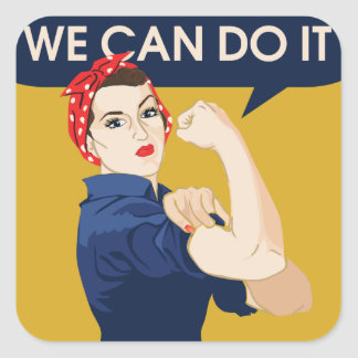 We can do it square sticker