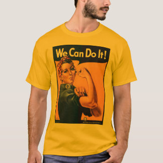 We can do it wartime tee