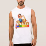 We can Do it With Pride Sleeveless Shirt