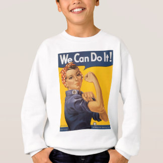 We Can Do It World War 2 Sweatshirt