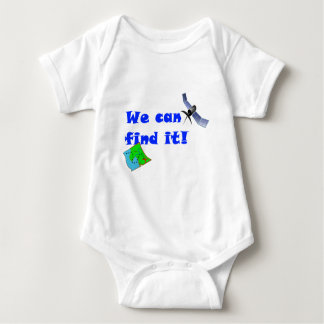 We can find it! Geocaching Baby Bodysuit