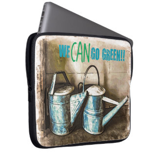 We CAN Go Green Laptop Sleeve