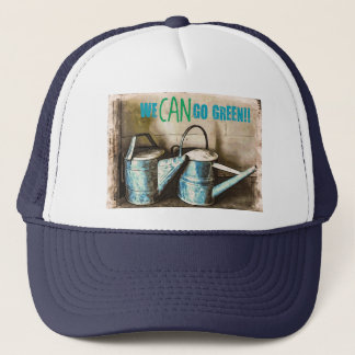 We CAN Go Green Trucker Hat