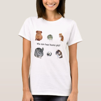 We can haz homz, plz? T-Shirt