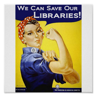 We can save our libraries Poster