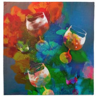 We celebrate the life in full colors napkin