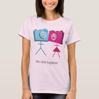 We click together T-Shirt