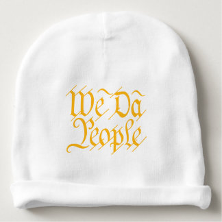 WE DA PEOPLE BABY BEANIE