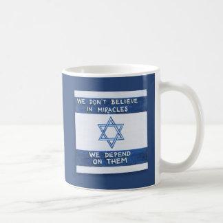 We Depend On Miracles Coffee Mug