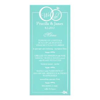 We Do Wedding Custom Rack Card