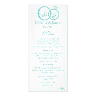 We Do Wedding Full Colour Rack Card