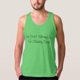 We Don't Skinny Dip - Men's Jersey Tank Top