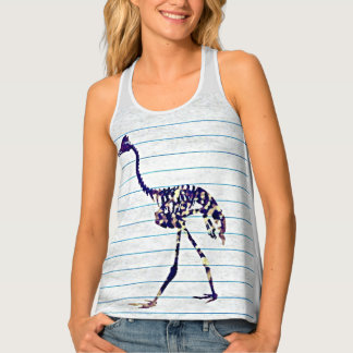 We Don't Stay Inside the Lines Racerback Tank Top
