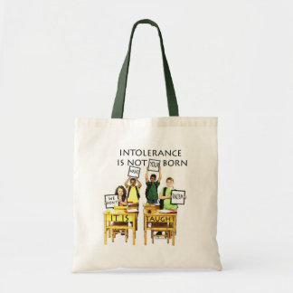 WE DON'T WANT YOUR RACISM TOTE BAG