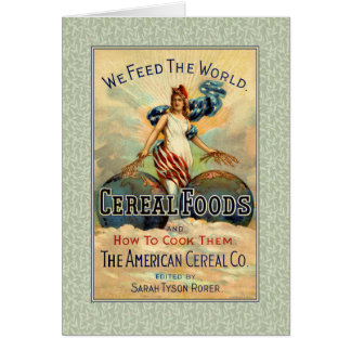 We Feed The World Grain Advertising Card
