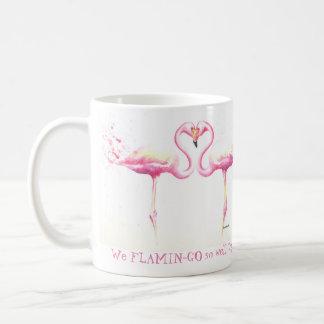 We Flamingo So Well Together! Mug