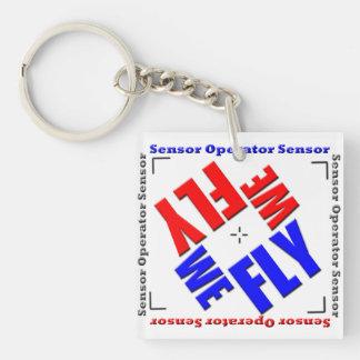 We Fly Sensor Keychain