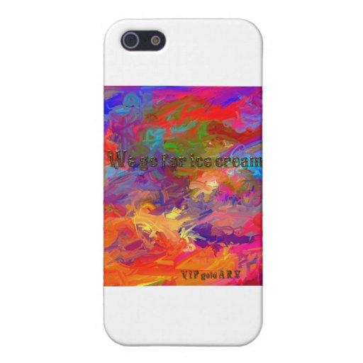 We go for ice cream iPhone 5 case