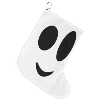 We go to smile in this Christmas Large Christmas Stocking