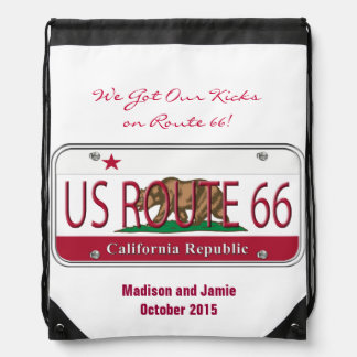 We Got Our Kicks on Route 66 California Bag