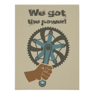 We got the power poster