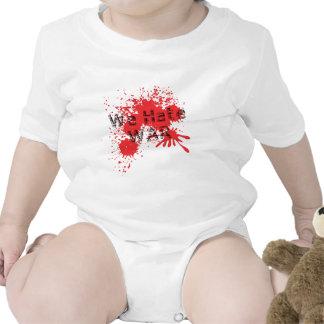 We Hate War T-shirts