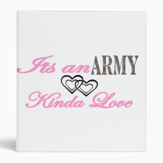 We have a Army Love Binders