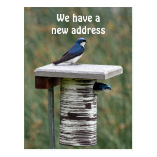 We Have a New Address Postcard