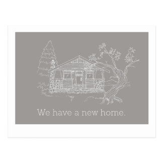 We Have a New Home Announcement Postcard