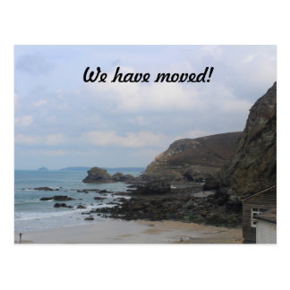 We have moved! Cornwall, St Agnes Postcard