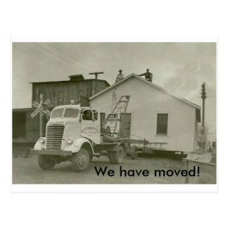 We have Moved! Postcard