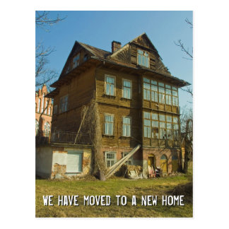 We have moved to a new home | Change of Address Postcard