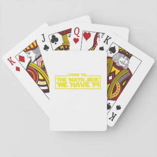 We Have Pi Math Funny Shirt Playing Cards